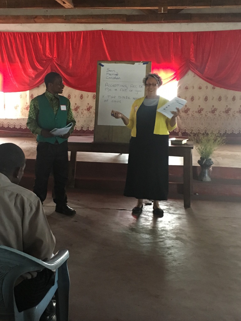 Jeanette teaching in Kande Bay MALAWI