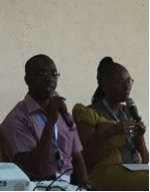Eliya and Consoler share their story at the EFOGE Conference.