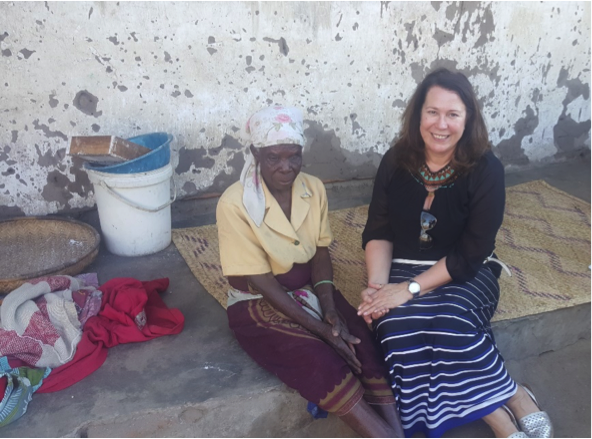 Sally Bryant on her trip to Malawi.