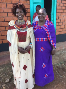 Happy Masai women at the seminar.